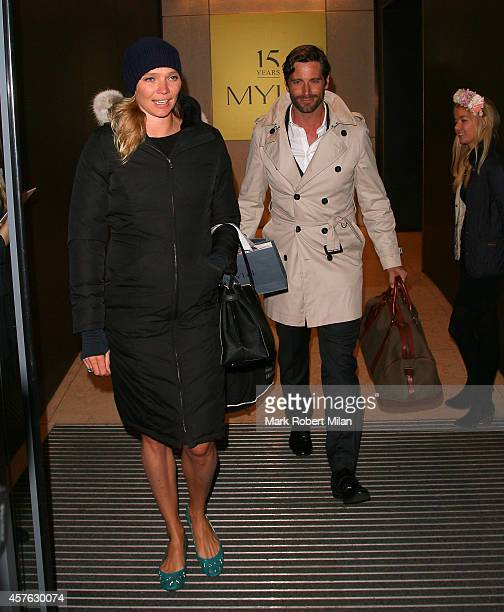 Jodie Kidd attending the Myla 15th Anniversary celebration on October 21 2014 in London England