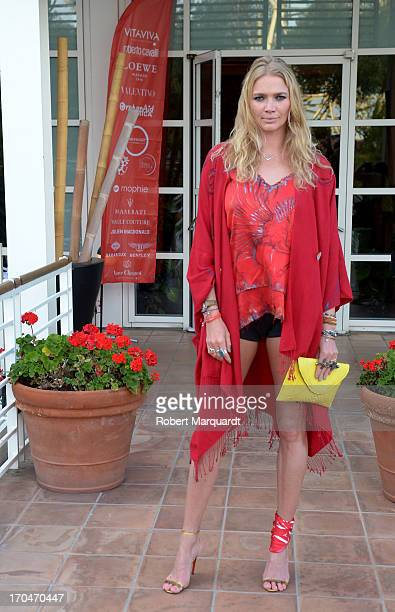 Jodie Kidd attends a cocktail party for 'Cash and Rocket Tour 2013' at the Hotel Arts on June 13 2013 in Barcelona Spain