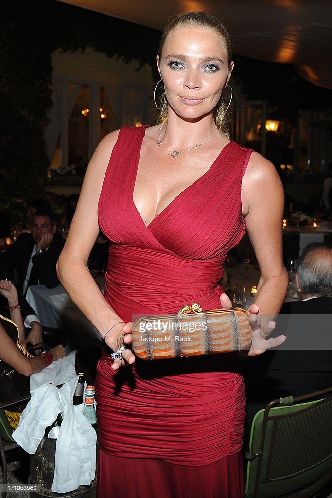 Jodie Kidd attends Cash & Rocket On Tour Women for Women - Gala Dinner and Auction on June 16, 2013 in Rome, Italy.