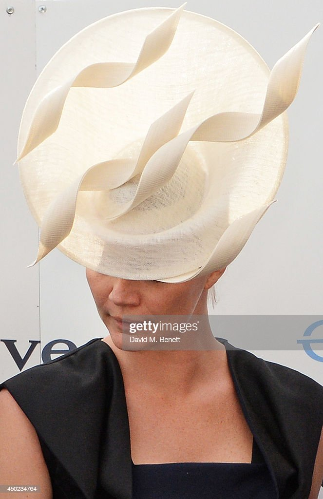 Jodie Kidd attends Derby Day at the Investec Derby Festival at Epsom Downs Racecourse on June 6 2014 in Epsom England