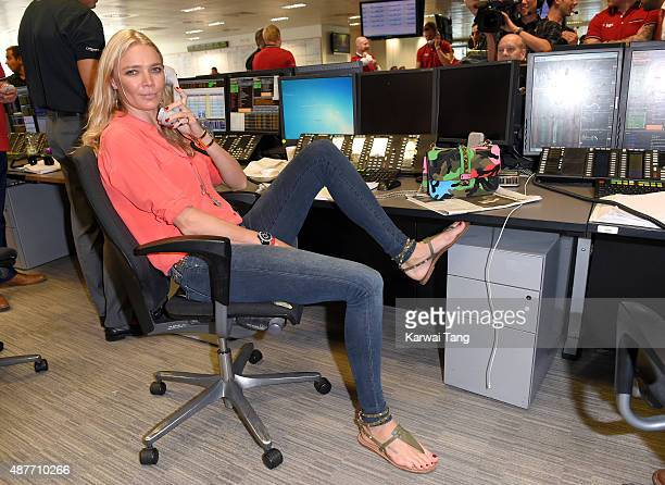 Jodie Kidd attends the annual BGC Global Charity Day at BGC Partners on September 11 2015 in London England