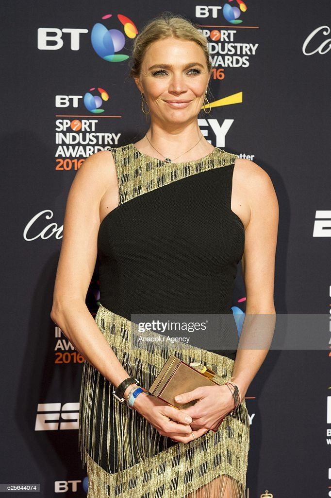 Jodie Kidd attends the BT Sport Industry Awards 2016 in London, United Kingdom on April 28, 2016.