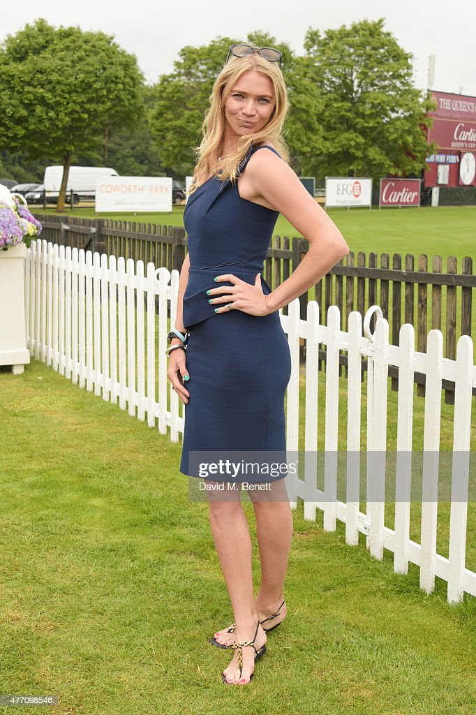 <a gi-track='captionPersonalityLinkClicked' href=/galleries/search?phrase=Jodie+Kidd&family=editorial&specificpeople=178960 ng-click='$event.stopPropagation()'>Jodie Kidd</a> attends The Cartier Queen's Cup final at Guards Polo Club on June 14, 2015 in Egham, England.