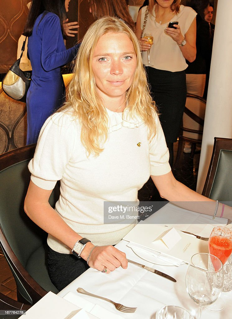 Jodie Kidd attends the launch of Cash & Rocket, in aid of the (Red) Rush to Zero campaign, at Banca Restaurant on April 29, 2013 in London, England.