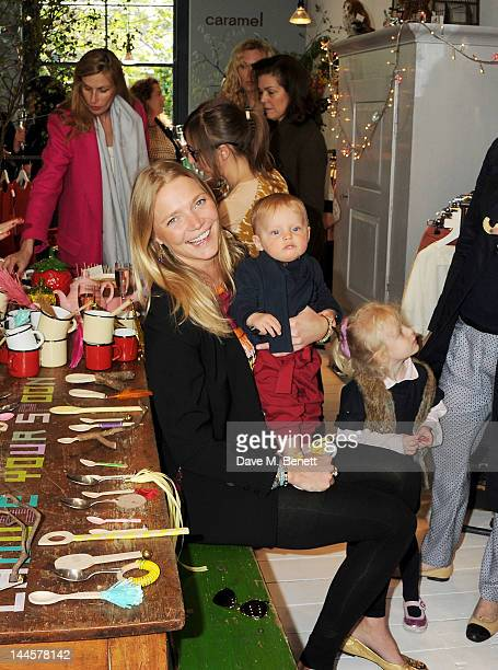 Jodie Kidd attends the launch of the Natalia Dress inspired by Natalia Vodianova to benefit her Naked Heart Foundation at Caramel BabyChild on May 16...