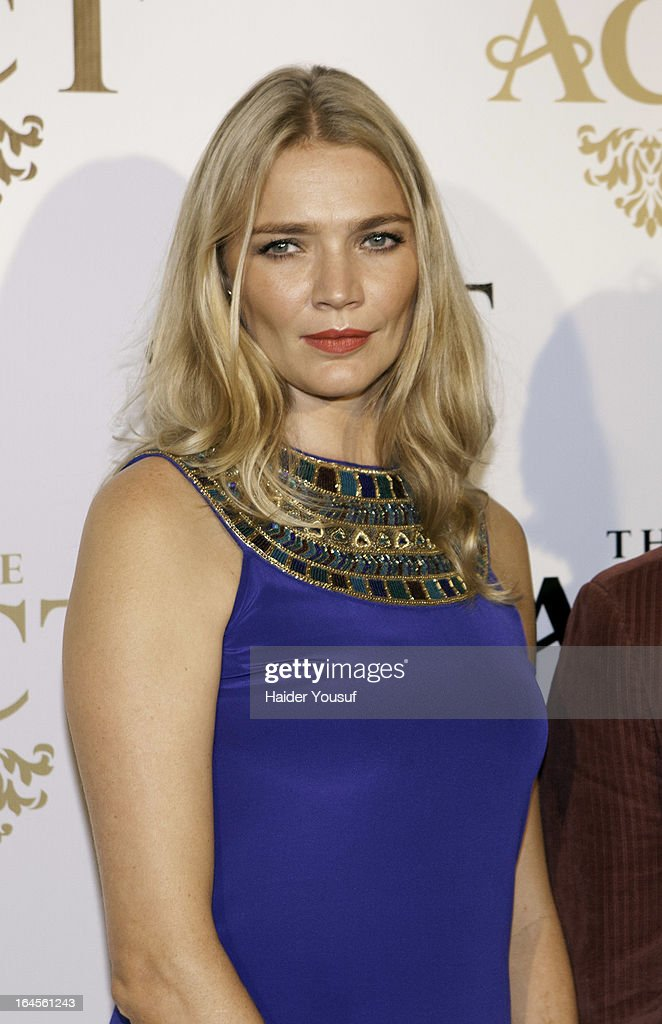 Jodie Kidd attends the launch party for The Act Dubai, the World's highest theatre club at Shangri-La Hotel on March 24, 2013 in Dubai, United Arab Emirates.