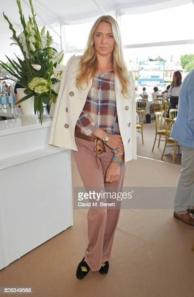 Jodie Kidd attends the Longines hospitality lounge at the Global Champions Tour at the Royal Hospital Chelsea on August 4 2017 in London England