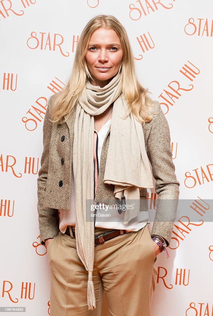 Jodie Kidd attends the Star Hu store launch party on November 20, 2012 in London, United Kingdom.
