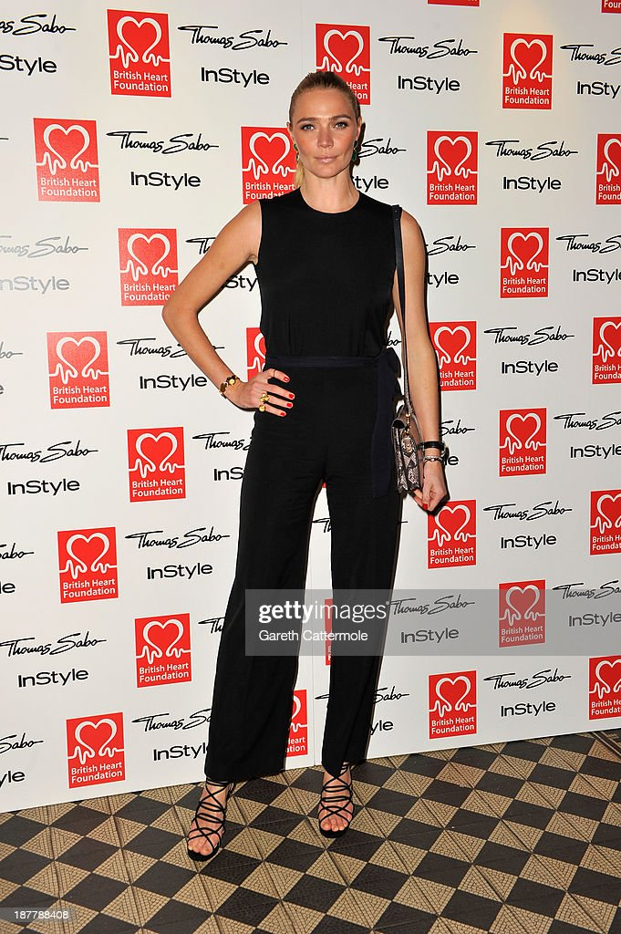 <a gi-track='captionPersonalityLinkClicked' href=/galleries/search?phrase=Jodie+Kidd&family=editorial&specificpeople=178960 ng-click='$event.stopPropagation()'>Jodie Kidd</a> attends the Tunnel of Love fundraiser in aid of the British Heart Foundation at One Mayfair on November 12, 2013 in London, England.
