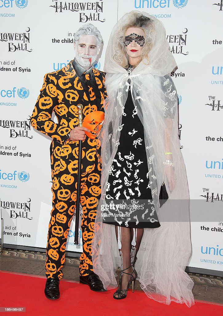 <a gi-track='captionPersonalityLinkClicked' href=/galleries/search?phrase=Jodie+Kidd&family=editorial&specificpeople=178960 ng-click='$event.stopPropagation()'>Jodie Kidd</a> attends The UNICEF Halloween Ball at One Mayfair on October 31, 2013 in London, England.
