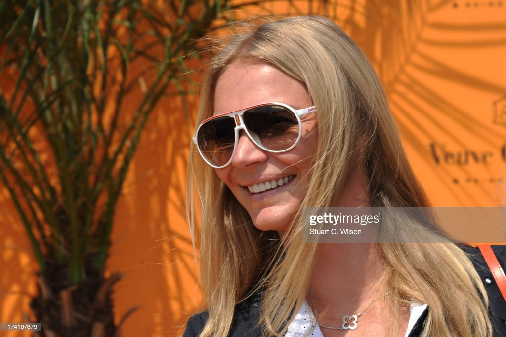 <a gi-track='captionPersonalityLinkClicked' href=/galleries/search?phrase=Jodie+Kidd&family=editorial&specificpeople=178960 ng-click='$event.stopPropagation()'>Jodie Kidd</a> attends the Veuve Clicquot Gold Cup final at Cowdray Park Polo Club on July 21, 2013 in Midhurst, England.