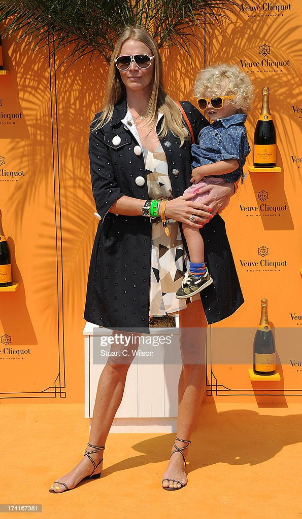 <a gi-track='captionPersonalityLinkClicked' href=/galleries/search?phrase=Jodie+Kidd&family=editorial&specificpeople=178960 ng-click='$event.stopPropagation()'>Jodie Kidd</a> (L) attends the Veuve Clicquot Gold Cup final at Cowdray Park Polo Club on July 21, 2013 in Midhurst, England.