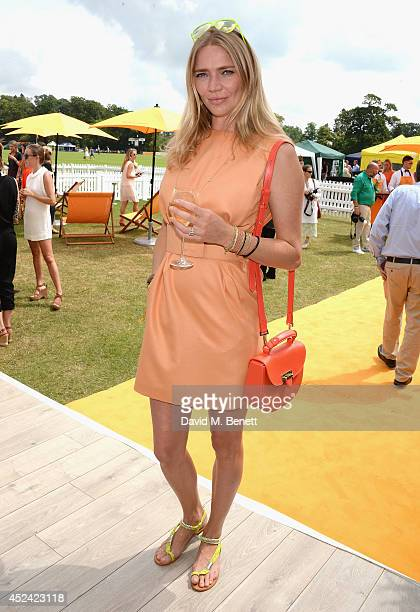 Jodie Kidd attends the Veuve Clicquot Gold Cup Final at Cowdray Park Polo Club on July 20 2014 in Midhurst England