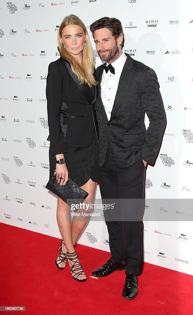 Jodie Kidd attends the WGSN Global Fahsion awards at Victoria & Albert Museum on October 30, 2013 in London, England.