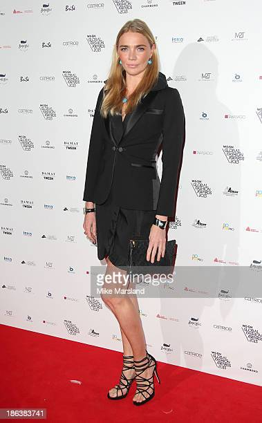 Jodie Kidd attends the WGSN Global Fahsion awards at Victoria Albert Museum on October 30 2013 in London England