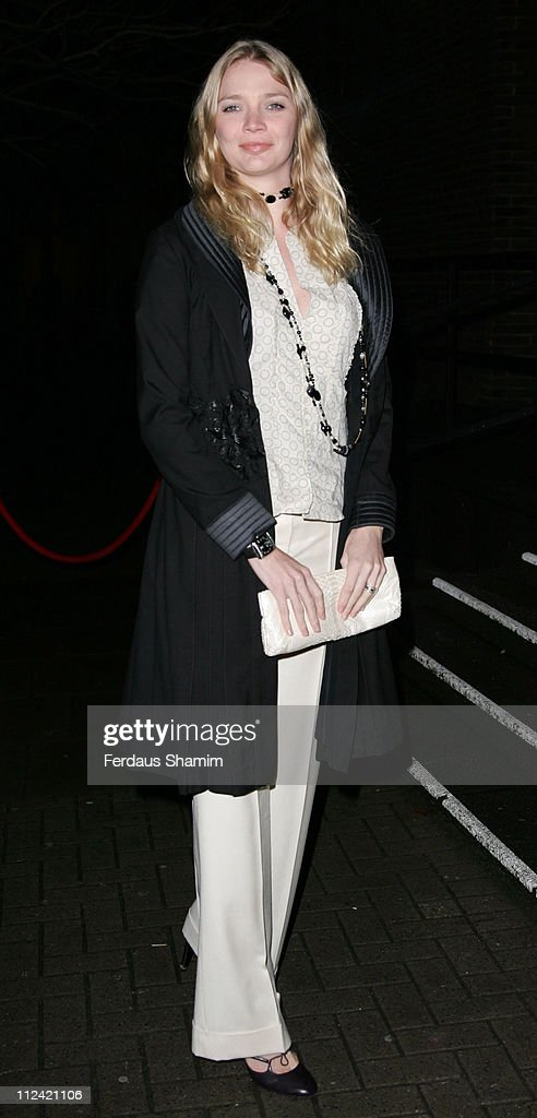 Jodie Kidd during TAG Heuer Strength & Beauty Exhibition - Opening Night Party - Outside Arrivals at Royal College of Art in London, United Kingdom.