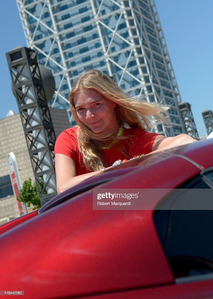 Jodie Kidd seen at Barceloneta on June 13, 2013 in Barcelona, Spain.