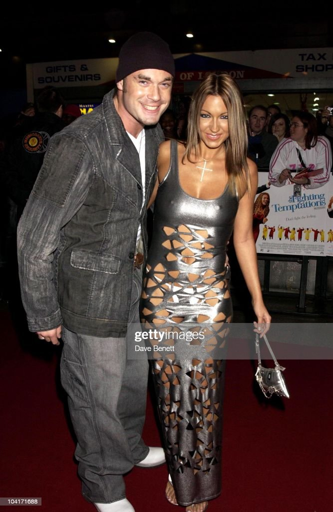 Jodie Marsh & Boyfriend Fran Cosgrove, 'The Fighting Temptations' Premiere, Empire Leicester Square, London