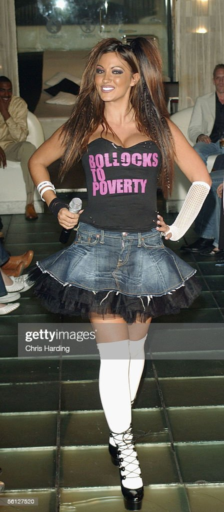 Jodie Marsh performs at the Lick Poverty In Style Fashion Show at Tantra on November 9, 2005 in London, England. The charity catwalk show is held in aid of ActionAid's Lick Child Poverty campaign and is organised by Kaiz Boutique.