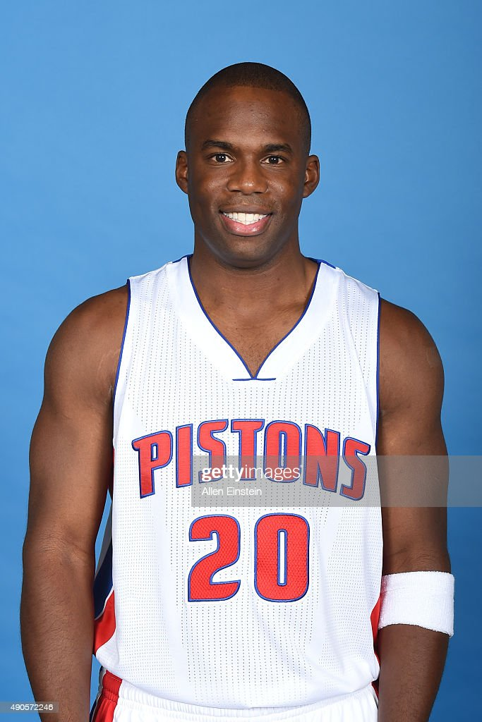 <a gi-track='captionPersonalityLinkClicked' href=/galleries/search?phrase=Jodie+Meeks&family=editorial&specificpeople=4001727 ng-click='$event.stopPropagation()'>Jodie Meeks</a> #20 of the Detroit Pistons poses for a portrait during media day on September 28, 2015 at The Palace of Auburn Hills in Auburn Hills, Michigan.