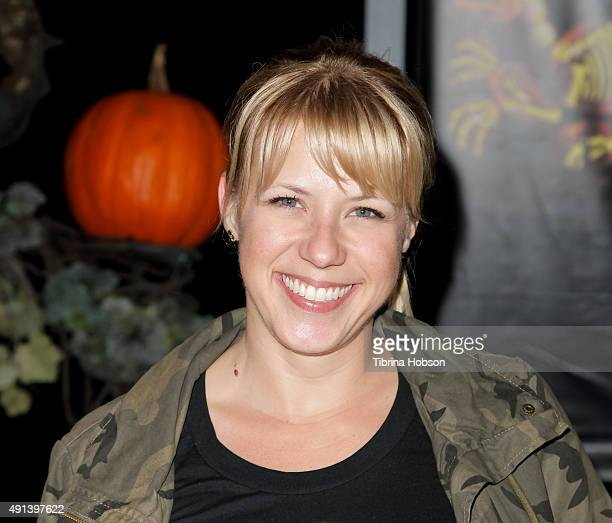 Jodie Sweetin attends the Rise of the Jack O' Lanterns 2nd annual VIP event at Descanso Gardens on October 4 2015 in La CanadaFlintridge California