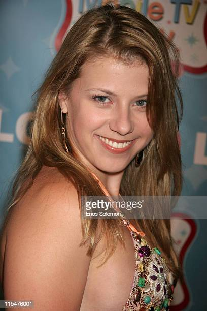 Jodie Sweetin during LG Mobile TV Party at Stage 14 Paramount Studios in Hollywood CA United States