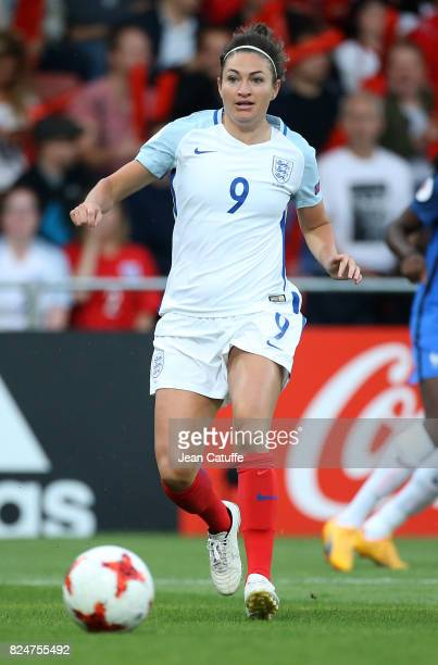 Jodie Taylor of England during the UEFA Women's Euro 2017 quarter final match between England and France at Stadion De Adelaashorst on July 30 2017...