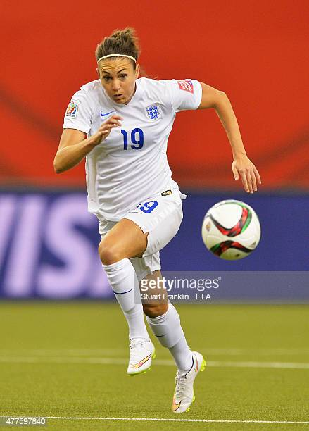 Jodie Taylor of England in action during the FIFA Womens's World Cup Group F match between England and Colombia at Olympic Stadium on June 17 2015 in...