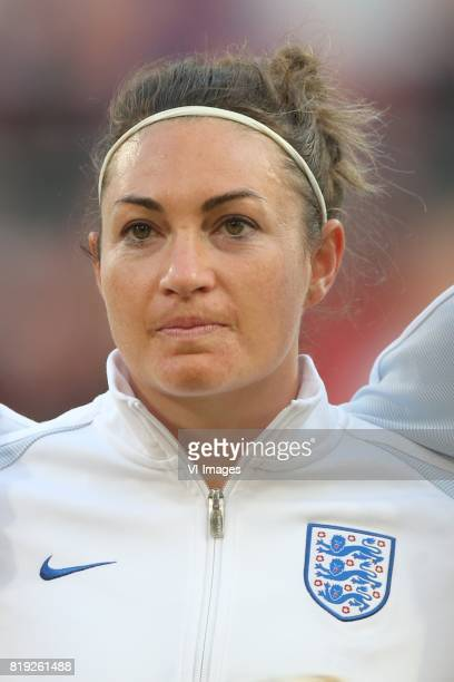 Jodie Taylor of England women during the UEFA WEURO 2017 Group D group stage match between England and Scotland at the Galgenwaard Stadium on July 19...