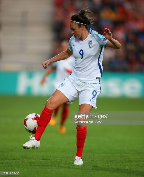 Jodie Taylor of England Women during the UEFA Women's Euro 2017 match between England and France at Stadion De Adelaarshorst on July 30 2017 in...