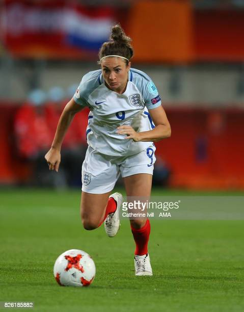 Jodie Taylor of England Women during the UEFA Women's Euro 2017 semi final match between Netherlands and England at De Grolsch Veste Stadium on...