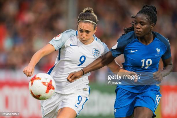 Jodie Taylor of England women Griedge Mbock Bathy Nka of France women during the UEFA WEURO 2017 quarter finale match between England and France at...