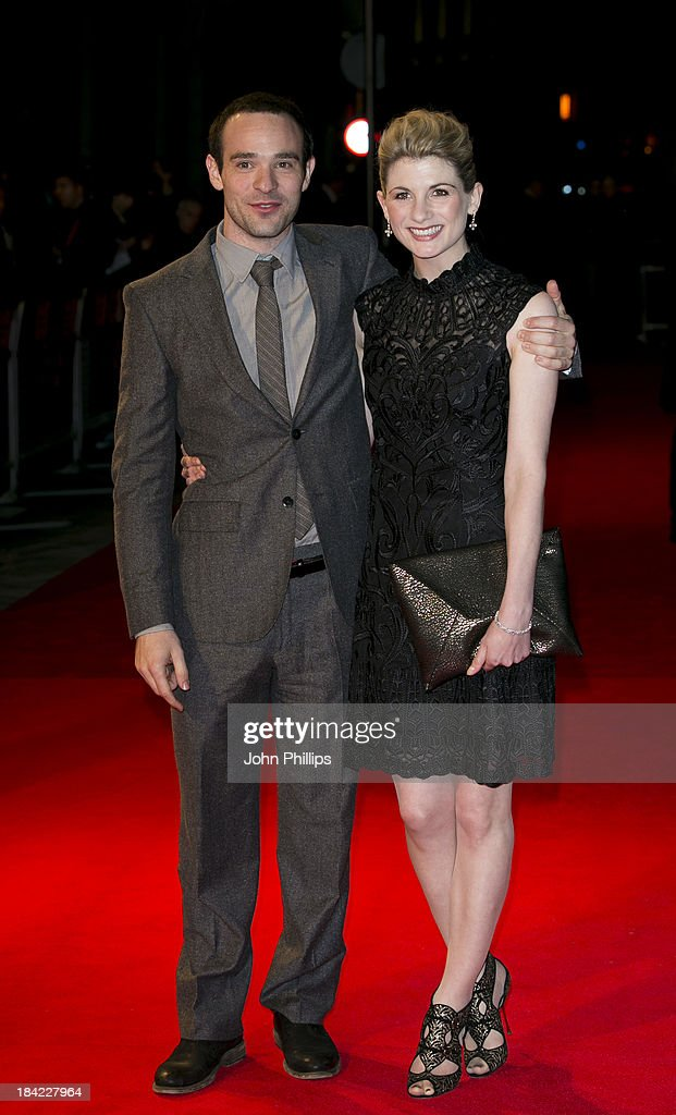 <a gi-track='captionPersonalityLinkClicked' href=/galleries/search?phrase=Jodie+Whittaker&family=editorial&specificpeople=3964596 ng-click='$event.stopPropagation()'>Jodie Whittaker</a> and <a gi-track='captionPersonalityLinkClicked' href=/galleries/search?phrase=Charlie+Cox&family=editorial&specificpeople=817918 ng-click='$event.stopPropagation()'>Charlie Cox</a> attend a screening of 'Hello Carter' during the 57th BFI London Film Festival at Odeon West End on October 12, 2013 in London, England.