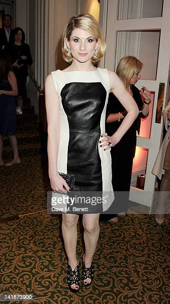 Jodie Whittaker arrives at the Jameson Empire Awards at Grosvenor House on March 25 2012 in London England