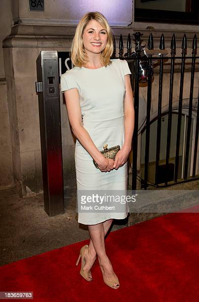 Jodie Whittaker attends a gala dinner hosted by the BFI ahead of the London Film Festival at 8 Northumberland Avenue on October 8 2013 in London...