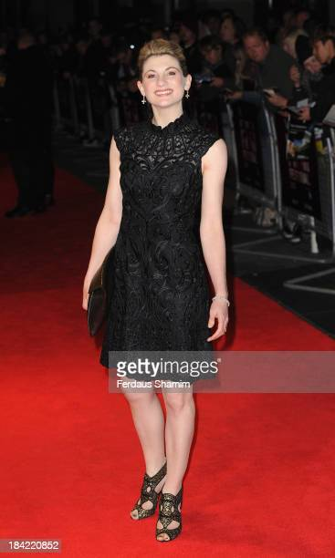 Jodie Whittaker attends a screening of 'Hello Carter' during the 57th BFI London Film Festival at Odeon West End on October 12 2013 in London England