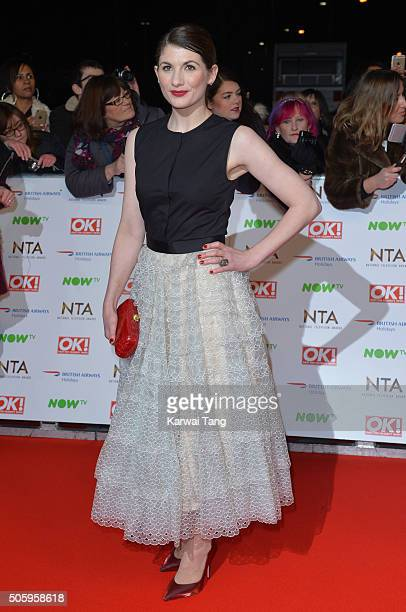 Jodie Whittaker attends the 21st National Television Awards at The O2 Arena on January 20 2016 in London England