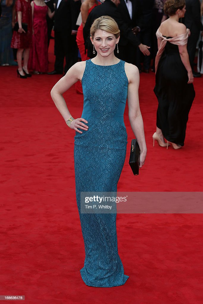 Jodie Whittaker attends the Arqiva British Academy Television Awards 2013 at the Royal Festival Hall on May 12, 2013 in London, England.