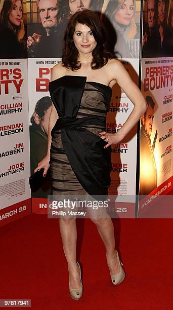 Jodie Whittaker attends the 'Perrier's Bounty' European premiere on March 10 2010 in Dublin Ireland