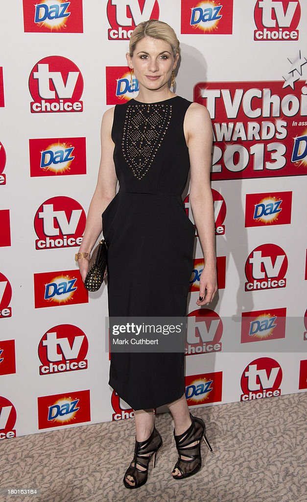 Jodie Whittaker attends the TV Choice Awards 2013 at The Dorchester on September 9, 2013 in London, England.