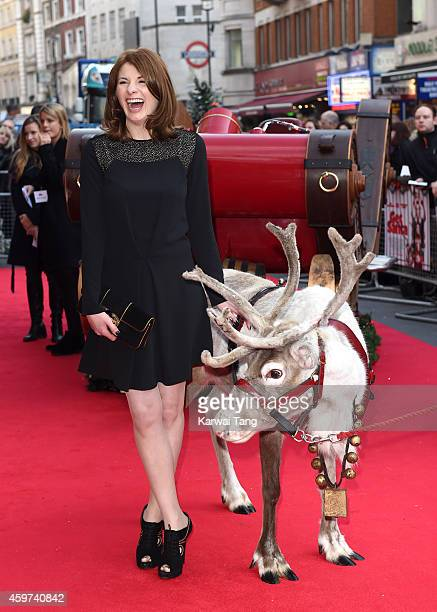 Jodie Whittaker attends the UK Premiere of 'Get Santa' at Vue West End on November 30 2014 in London England