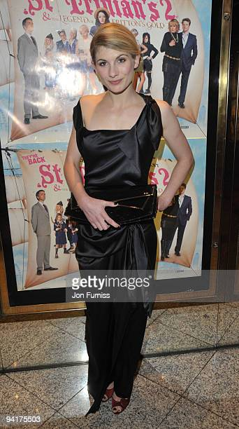 Jodie Whittaker attends the World Premiere of 'St Trinian's 2 The Legend of Fritton's Gold' at Empire Leicester Square on December 9 2009 in London...