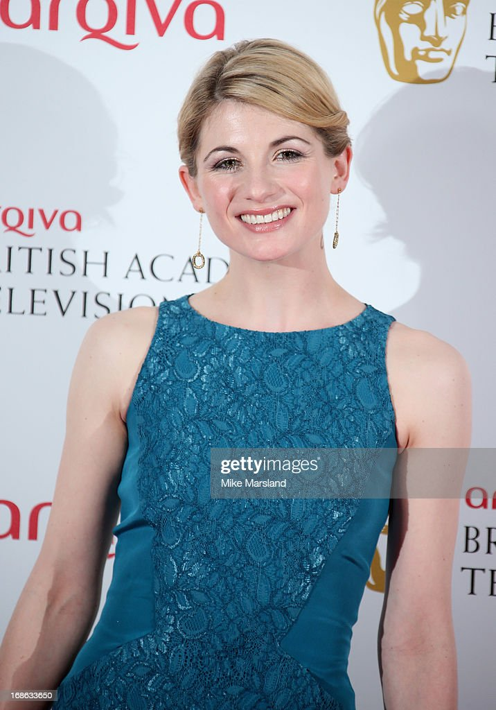 Jodie Whittaker during the Arqiva British Academy Television Awards 2013 at the Royal Festival Hall on May 12, 2013 in London, England.