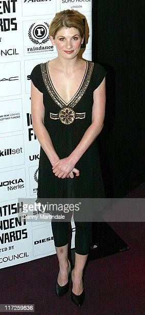 Jodie Whittaker during The British Independent Film Awards Red Carpet Arrivals in London Great Britain