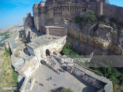 Jodphur Fort : Stock Photo