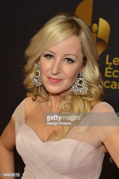 Jody Claman arrives at the Canadian Screen Awards at the Sony Centre for the Performing Arts on March 3 2013 in Toronto Canada