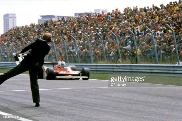 Jody Scheckter driving a Ferrari 312T4 at Zandvoort Dutch GP 2nd