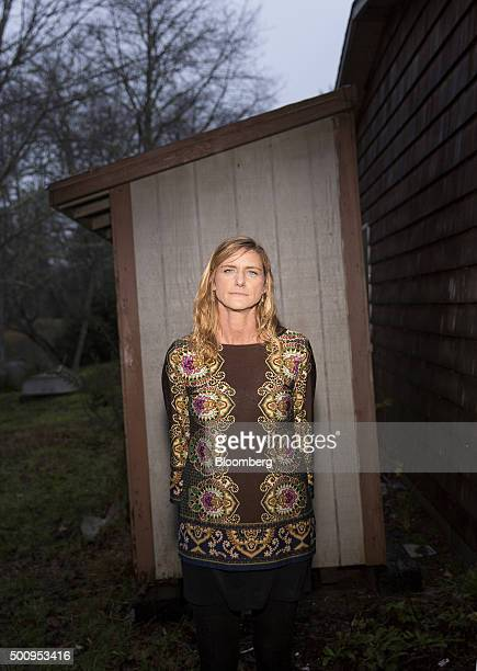 Jody Sofia stabnds for a photograph near her home in Ocean Park Washington US on Tuesday Dec 8 2015 Sofia borrowed $92500 to get a degree from...