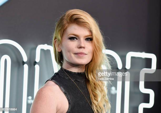 Jody Steel attends the premiere of Focus Features' 'Atomic Blonde' at The Theatre at Ace Hotel on July 24 2017 in Los Angeles California