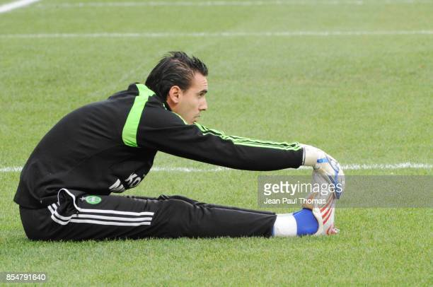 Jody VIVIANI Saint Etienne / Rennes 13eme journee de Ligue 1
